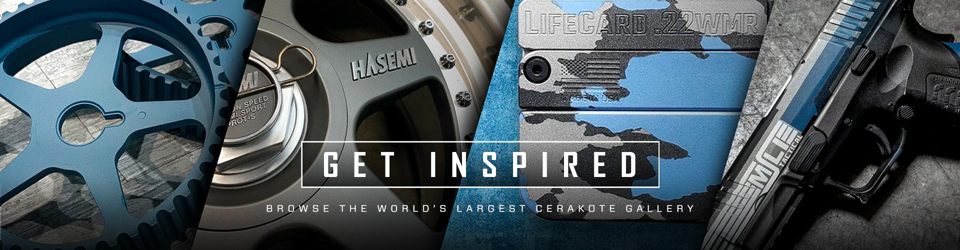 Cerakote Firearm Coatings, Get Inspired. Browse the world's largest cerakote gallery.