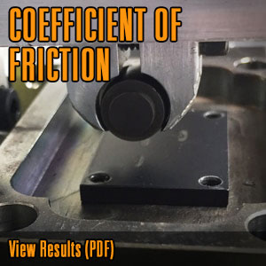 COEFFICIENT OF FRICTION @CerakoteFinish #Cerakote
